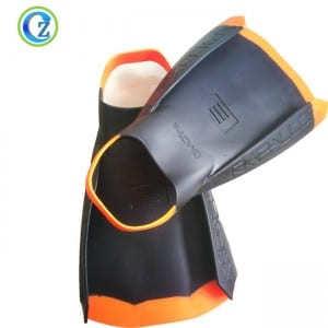 Adult Flexible Silicone Swimming Fins High Quality Silicone Swimming Long Flipper Diving