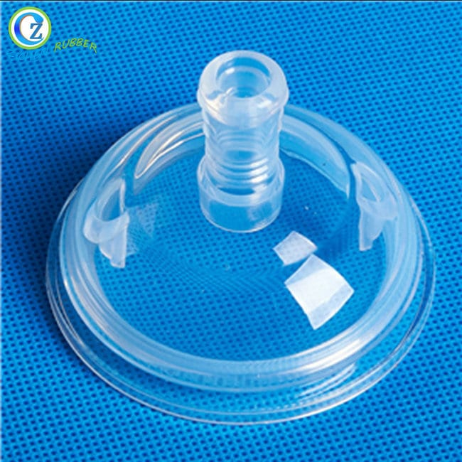 Hot Selling for Ice Cube Trays With Different Shapes - Custom Silicone Feeding Nipple High Quality Soft Silicone Baby Nipple – Zichen Featured Image