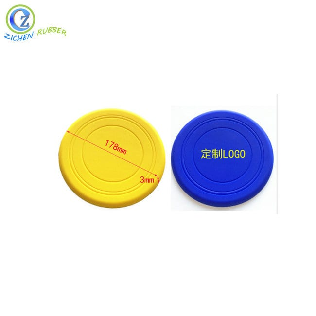 High Quality Silicone Kitchenware Products - Custom Silicone Dog Frisbee High Quality Silicone Rubber Frisbee – Zichen