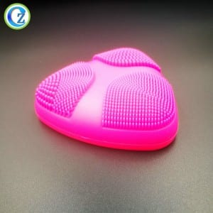 China Supplier Direct Electric Silicone Facial Cleansing Tool Private Label Face Spin Brush
