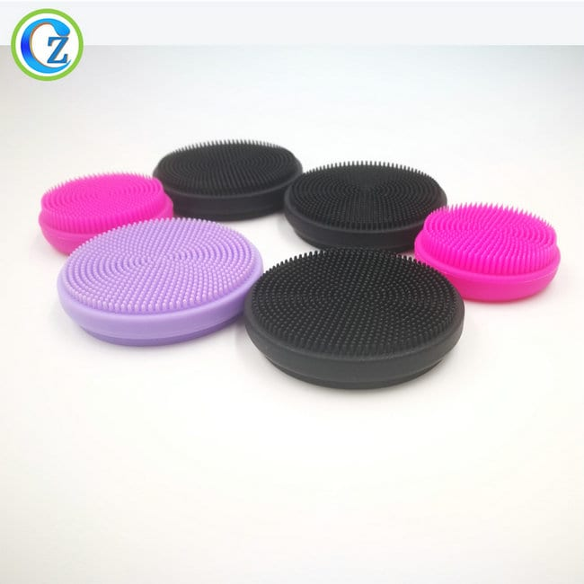 2019 High quality Face Brush Cleansing - Portable FDA Silicone Facial Brush New Arrival Facial Instrument Silicone Cleansing Brush – Zichen