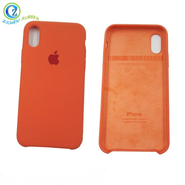 Silicone IPhone X Case, Silicone Rubber Shockproof Case Soft Microfiber Cloth Lining Cushion Compatible with iPhone X Featured Image