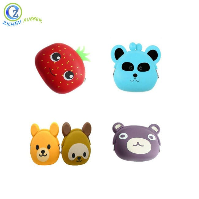 Manufacturing Companies for Silicone Ball Shaped Ice Cube Tray - Custom Design Silicone Jelly Coin Purse Cute Animal Silicone Coin Purse For Gift – Zichen Featured Image