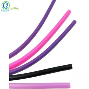 High Quality Solid Round FDA Silicone Rubber Seal Strip