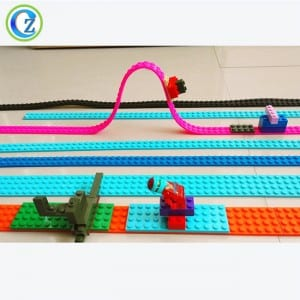 Flexible Custom Reusable Silicone Building Brick Tape High Quality Silicone Toy Block Tape