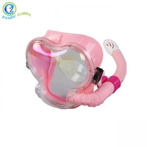 FDA BPA Free Silicone Diving Mask Safe Full Face Silicone Scuba Snorkel Mask