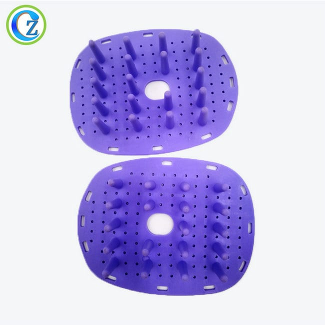 Fixed Competitive Price Epdm Rubber Cord - Personalized Comfortable Head Scalp Massager Hair Silicone Comb for Hair – Zichen
