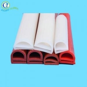 Waterproof Extrusion Silicone Sponge Rubber Door Seal Strip