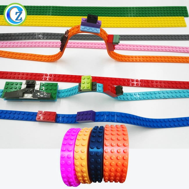 Hot Selling for High Temperature Rubber Hose - Custom Reusable Silicone Compatible Building Brick Tape Soft Silicone Toy Brick Tape – Zichen