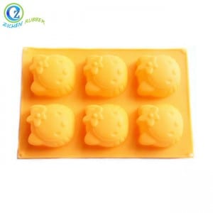 Non-Stick Silicone Bakeware BPA Free Microwave Silicone Cake Mold
