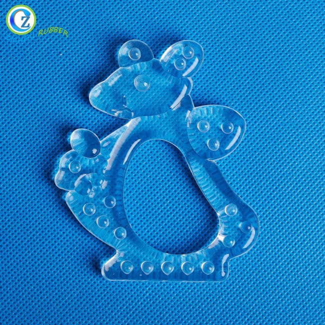 China New Product Small Silicone Tube - Animal Shapes Baby Toys Teether New Design Silicone Teething Toys – Zichen