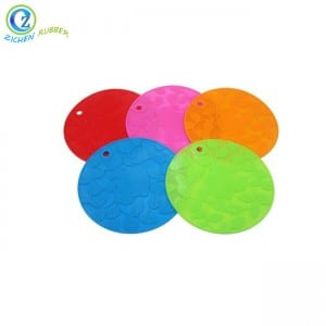 Well-designed Custom Logo Reusable Easy Cleaning Coffee Pad Coaster Pvc Cup Coloringlarge Silicone Mat For Kitchen