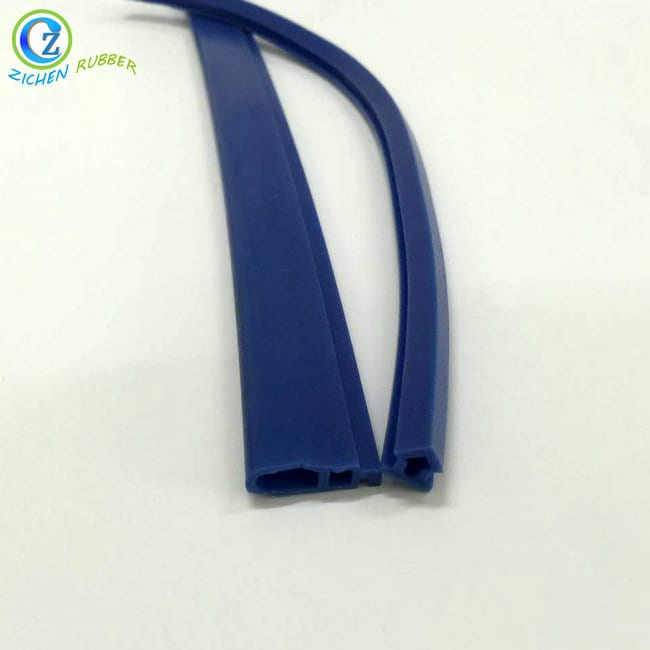 OEM/ODM Factory 3mm Rubber Seal - Soft Silicone Vacuum Hose Flexible Flat Silicone Rubber Hose Tubing – Zichen