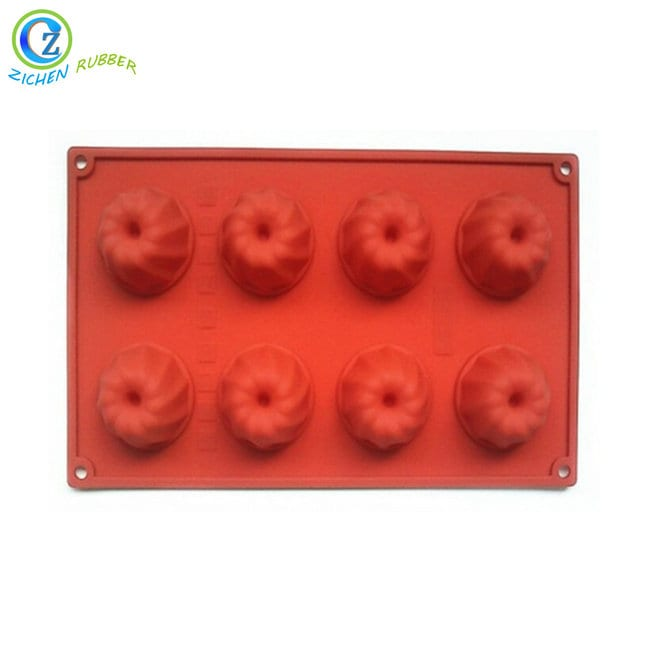 Professional China Silicone Cup Cake Mold - Flexible Silicone Biscuit Moulds Custom High Quality Silicone Cooking Ware – Zichen
