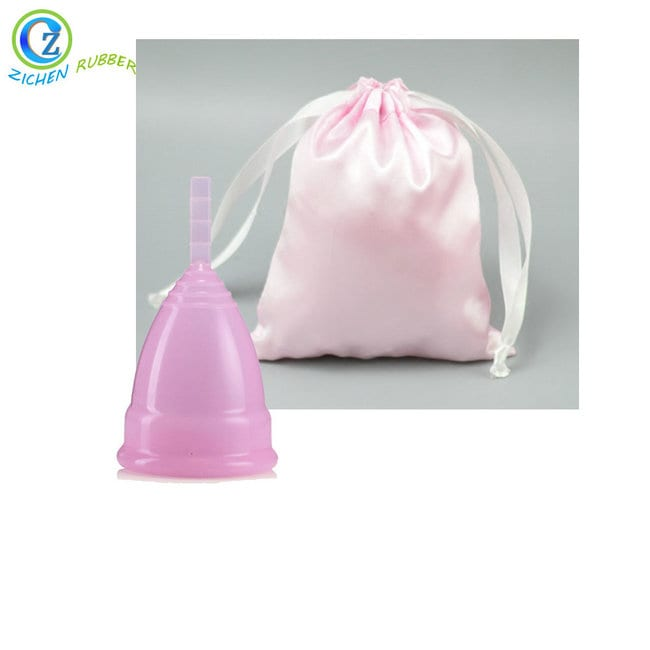 2019 High quality Cup For Menstruation – Custom Silicone Lady Menstrual Cup Reusable Silicone Menstruation Cup – Zichen
