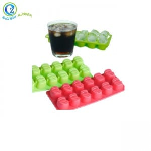 Big Discount Viton Rubber Seal - Flexible Ice Trays Custom Silicone Ball Shaped Ice Cube Tray – Zichen