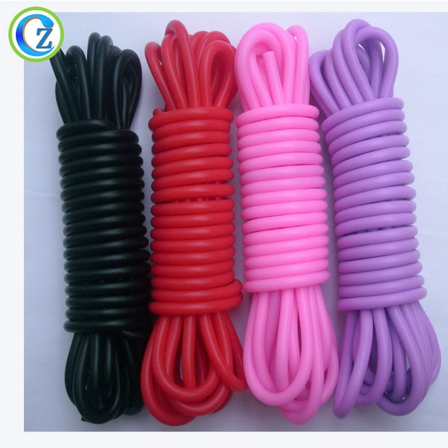 China New Product Baby Soft Teether - High Quality Custom Colorful Silicone Sex Bondage Cord Rope – Zichen