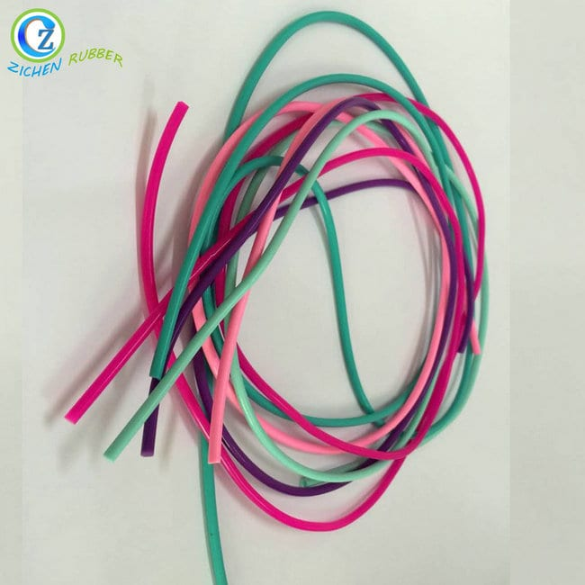 Factory Supply Rubber O-Ring - Customized 8MM Rubber Cord High Quality Silicone Sponge Extrusion Strip Cord – Zichen