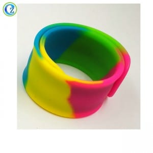 Adjustable Silicone Wristband Custom Logo Silicone Rubber Wristbands