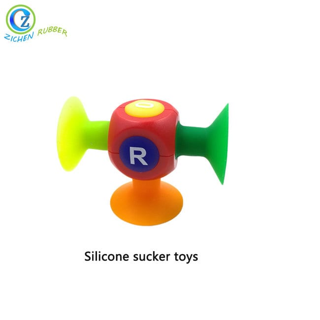 Reliable Supplier Silicone Cupping Massage - Creative Educational Style Kids Building Blocks Sucker Suction Funny Silicone Toys – Zichen