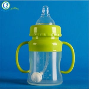 New Arrivals Baby Bottle Silicone Custom Logo Baby Silicone Bottle