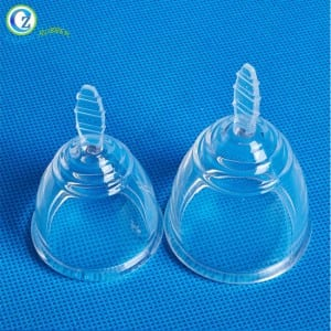 High Quality Silicone Foldable Menstrual Cup Medical Grade Silicone Menstruation Cup for Menstruation