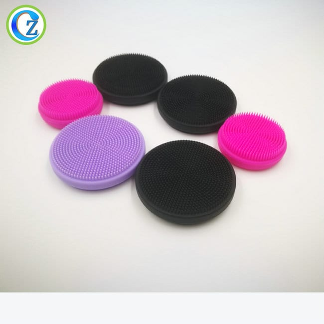 Best Price for Custom Rubber Gaskets - BPA Free FDA Facial Brush Silicone Comfortable Silicone Face Facial Cleansing Brush – Zichen