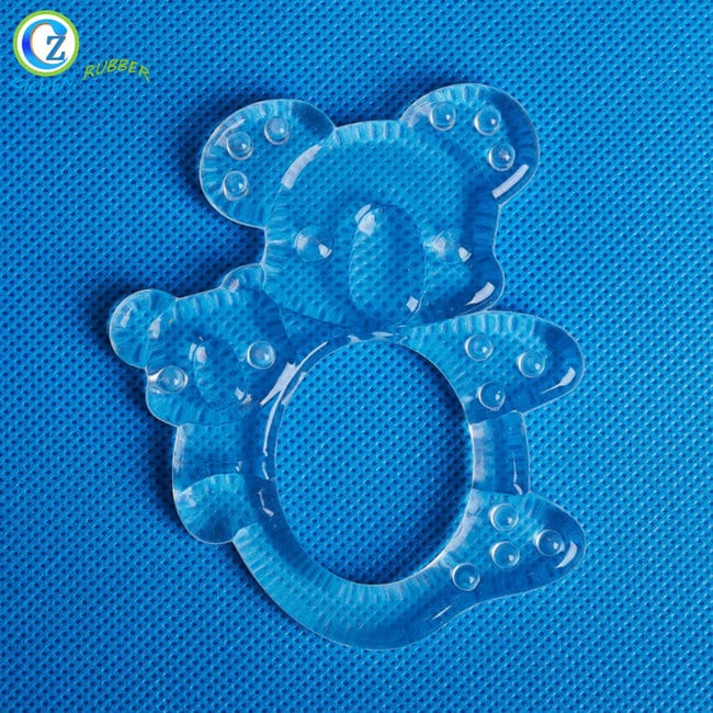 2017 New Style High Temp Silicone Tubing - BPA Free Baby Teether Silicone Durable Baby Soft Teether – Zichen