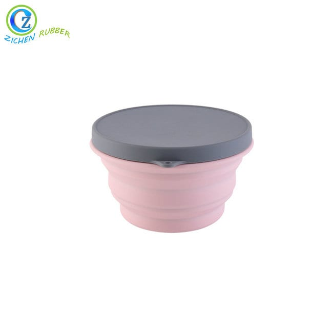 Factory Supply Silicone Cup With Lid -