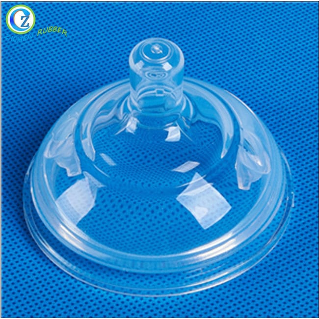 Hot Selling for Ice Cube Trays With Different Shapes - Custom Silicone Feeding Nipple High Quality Soft Silicone Baby Nipple – Zichen