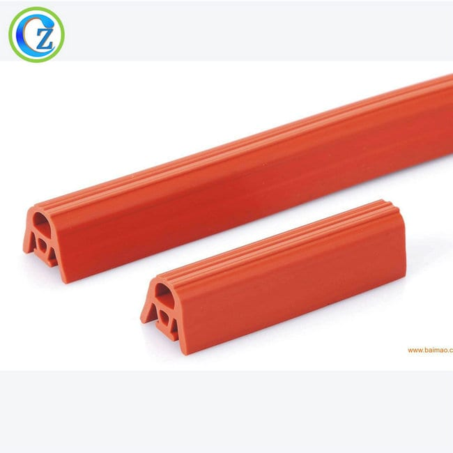 Low price for White Rubber O Ring Seal - Silicone Extrusion Seal Strip Custom Silicone Rubber Adhesive  Seal Strips – Zichen