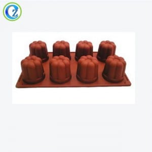 Fixed Competitive Price Fda/lfgb Christmas Bell Silicone Cake Mold With