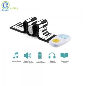 High Quality Toy Musical Instrument Piano Waterproof 49 keys Silicone Electric Piano