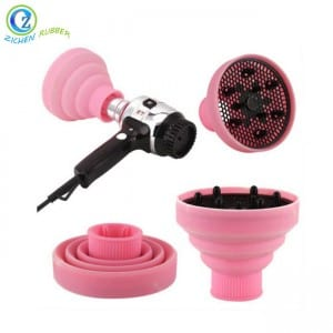 Retractable Silicone Folding Hairdressing Curly Hair Blow Dryer Diffuser
