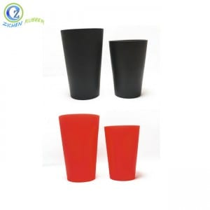 China Factory for Bpa Free Folding Camping Mugs Reusable Coffee Cup Portable Silicone Collapsible Travel Cup Folding Cup
