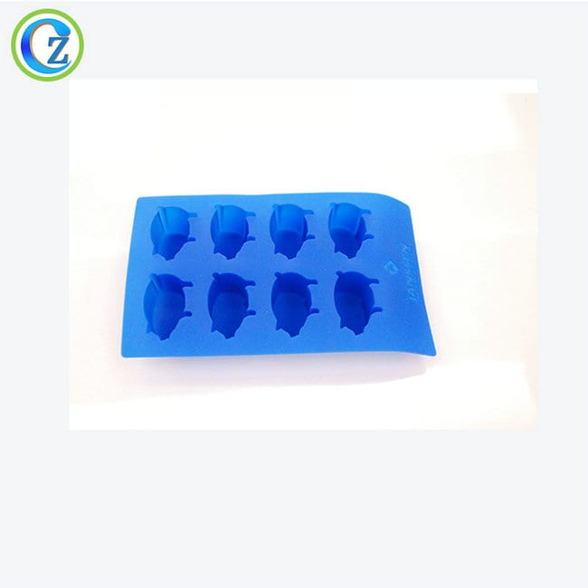 OEM Customized Silicone Tubing Suppliers - Fun Shaped Ice Cube Trays Delicate Silicone Fish Shaped Ice Cube Trays – Zichen