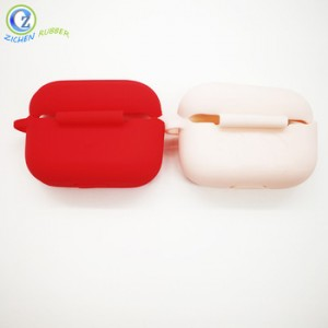 Silicone Anti-lost Portable Travel Protective Earbuds Cover Case for Airpods Earphone Case Cover