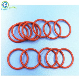 High Temperature Resistant Silicone Sealing O Ring FDA LFGB Approved Silicon O-Rings for Lunch Boxes