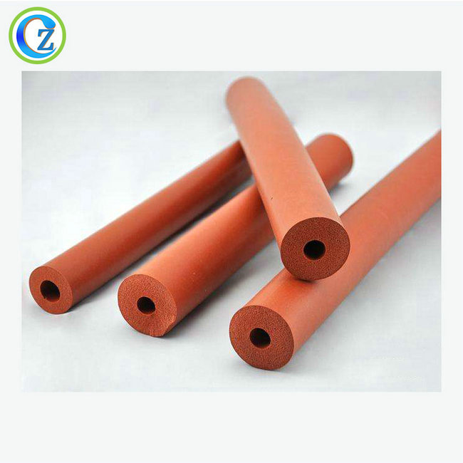 China OEM High Temperature Resistant Rubber Sealing Gasket - Heat Shrinkable Silicone Solid Soft Foam Rubber Tube – Zichen