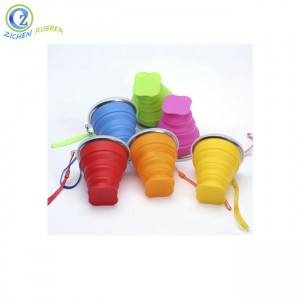 Custom Silicone Foldable Cup High Quality Competitive Price