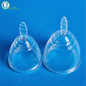 China Cheap price Foldable Menstrual Cup - Liquid Silicone Menstrual Cup Hygiene Feminine Menstruation Lady Cup FDA Approved – Zichen
