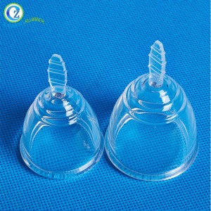 Reusable Medical Grade Silicone Menstrual Cup Feminine Hygiene Product Lady Menstruation Cup