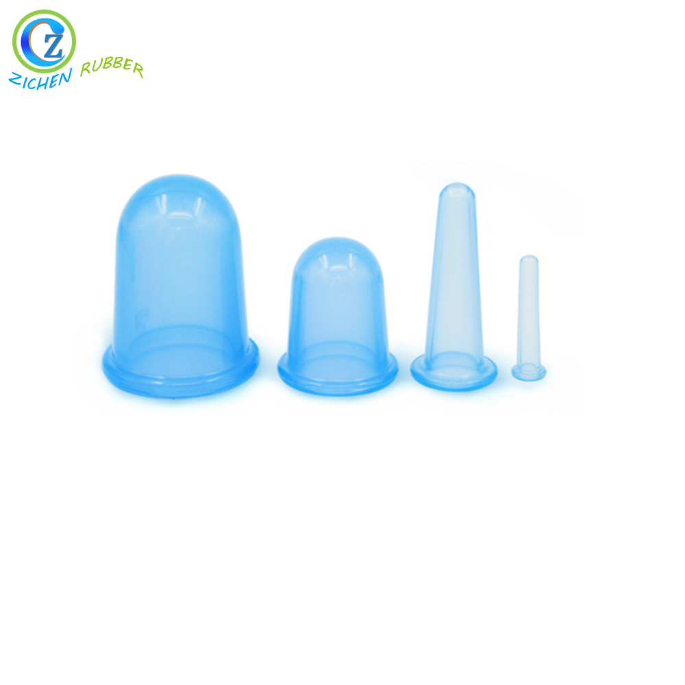 China Cheap price Foldable Menstrual Cup -  Anti Cellulite 4 cups Silicone Vacuum Cupping Set Silicone Cupping Cups – Zichen