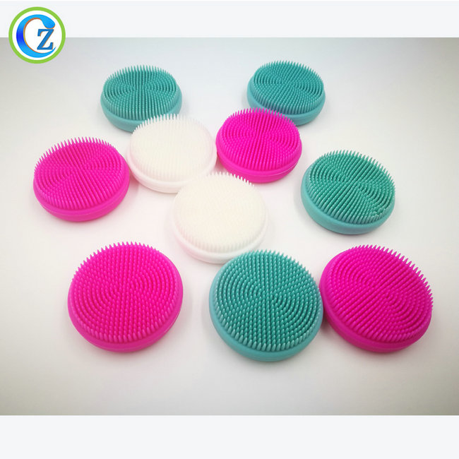 Chinese wholesale Silicone Facial Brush - Silicone Facial Cleansing Brush Sonic Face Scrubbers Waterproof Electric Face Cleanser Massager Brush for All Skin Types – Zichen Featured Image
