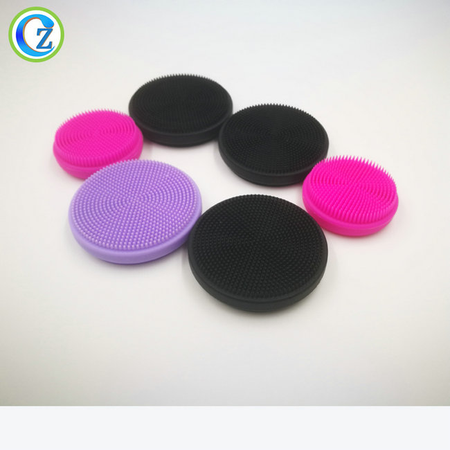 Chinese wholesale Silicone Facial Brush - Silicone Facial Cleansing Brush Sonic Face Scrubbers Waterproof Electric Face Cleanser Massager Brush for All Skin Types – Zichen