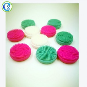 Hot Sale Electric Waterproof Vibration Facial Deep Cleansing Brush Silicone Beauty