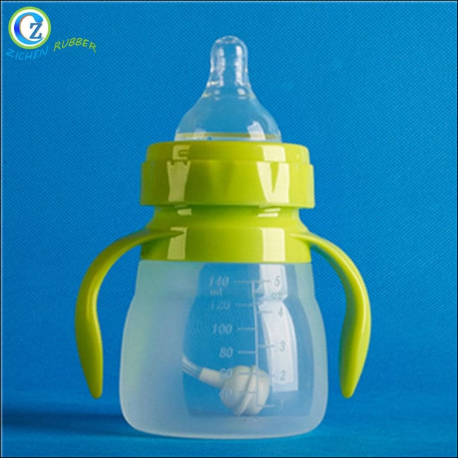 Factory Outlets Monogrammed Ice Cubes - Top Quality Baby Silicone Products Eco-friendly Silicone Baby Bottle For Feeding – Zichen