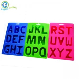 Letter Ice Cube Trays High Quality Silicone Character Ice Cube Trays