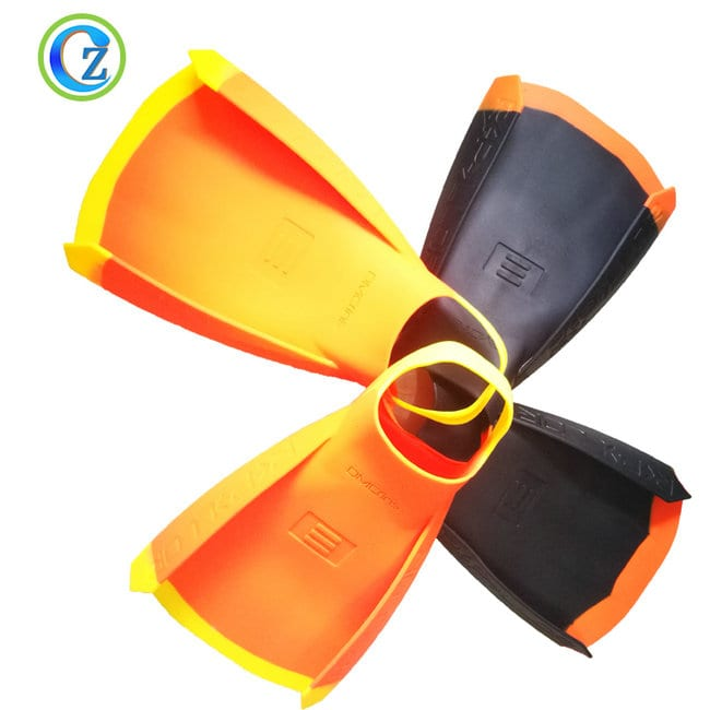 Wholesale Silicone Children Collapsible Cups - Custom Full Sizes Silicone Swim Fins For Kids Best Unisex Silicone Swimming Fin – Zichen