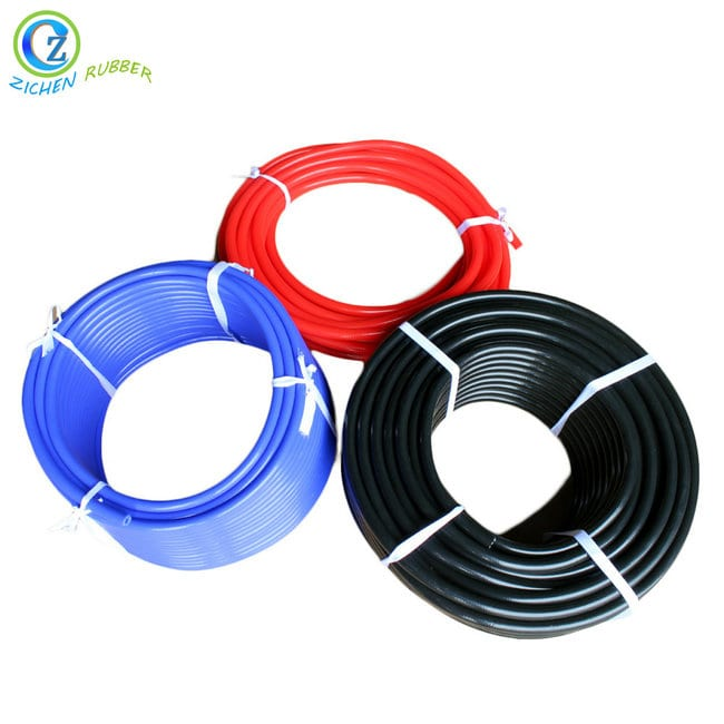 Fast delivery Clear Rubber Tubing - High Temp Silicone Tubing Food Grade Small Diameter Rubber Tubing Braided Silicone Tubing – Zichen